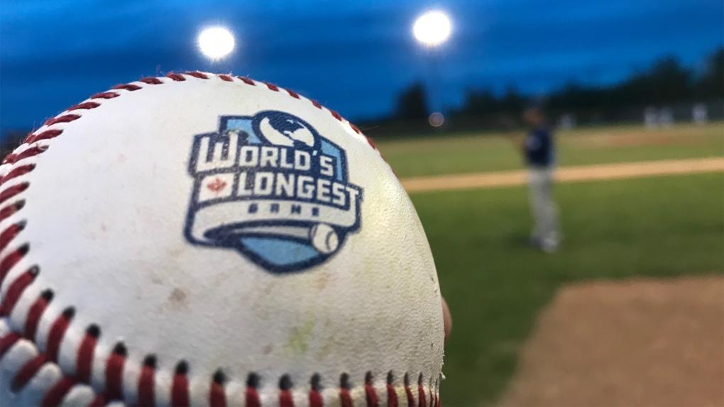 World's longest baseball game