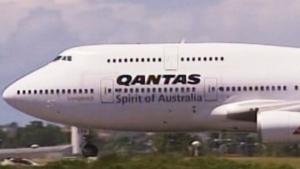 quatas airways flight