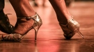 The 2019 World Tango Championships, hosted by the Argentine government, featured 744 couples from 36 countries. AFP.
