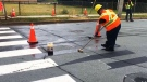 City crews remove 3D crosswalk in Dartmouth