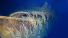 New discovery at Titanic wreckage