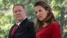 Freeland on Russia being readmitted to G7