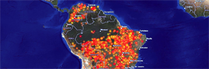 Esri Canada Amazon forest fire