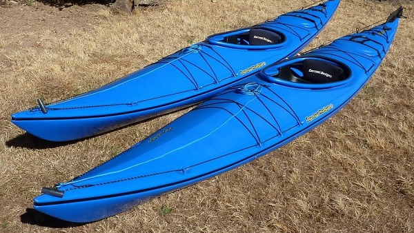 Police are asking anyone who has seen Ferrand's kayak, described as a blue Breeze model by Current Designs, to come forward. (Handout)