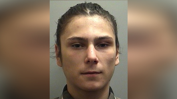 Jake Marcellus, 20, of Orillia is wanted by OPP in connection with an attempted murder. Thurs., Aug. 22, 2019 (Orillia OPP)