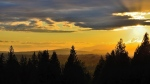 The view from Maple Ridge was captured by weather watcher Dave McCannell.