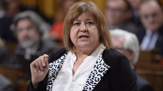 Liberal MP MaryAnn Mihychuk is captured in this file photo answering a question during question period in the House of Commons on Parliament Hill in Ottawa. (THE CANADIAN PRESS/Adrian Wyld)