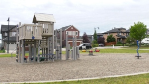 Police are investigating after a poisonous substance was found in a northwest Calgary park.