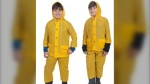 Health Canada has issued a recall for the Wetskins Children's Rainsuit. (Health Canada)