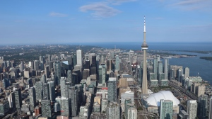 The skyline of Toronto is seen in this undated photograph. (Ted Brooks/CTV News Toronto)