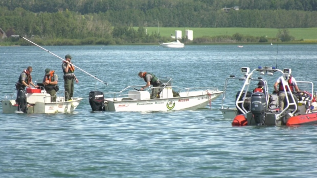 Body of man who drowned in Sylvan Lake found