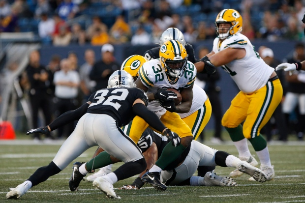 Oakland Raiders vs. Green Bay Packers