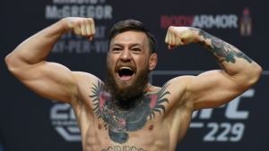 Conor McGregor has apologized for his unprovoked attack on a man in a Dublin pub. (AFP)