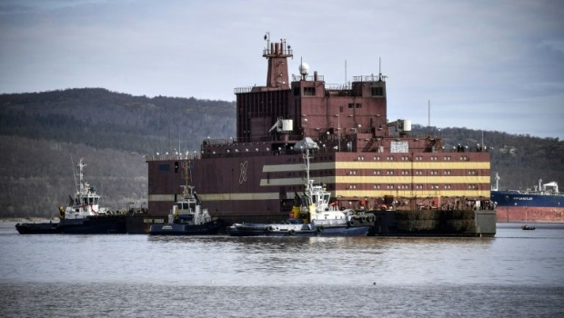 Russian launches 'floating Chernobyl' plant across Arctic