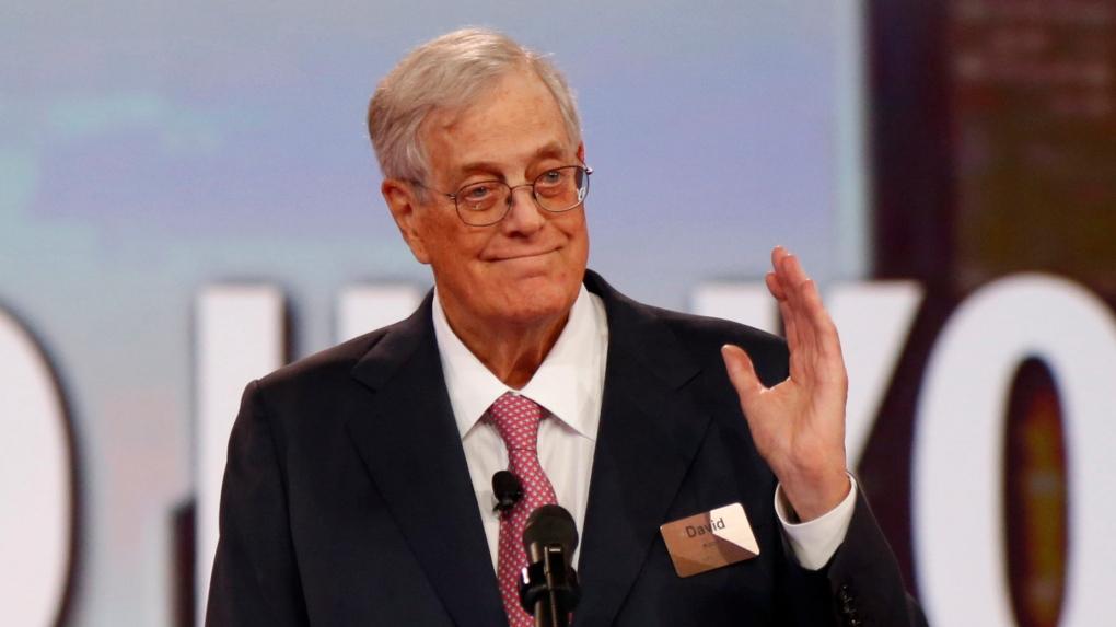 U.S. billionaire David Koch has died at age 79