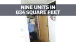 Landlord fined for turning 634-sq-foot condo into