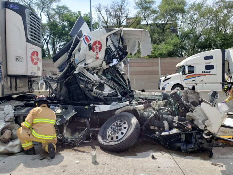 Highway 402 crash