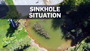 Sinkhole in N.S. town could get bigger, spawn more