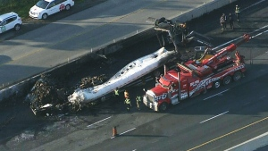 QEW crash leaves 1 dead, 7 injured