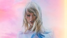 """This cover image released by Republic Records shows """"Lover"""", the latest release by Taylor Swift. Swift's superb 18-track new album 'Lover' finds the singer-songwriter looking backward and forward through the lens of love. (Republic Records via AP)"""