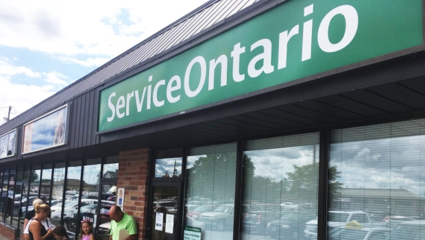 Service Ontario location in Chatham, Ont., on Friday, Aug. 23, 2019. (Chris Campbell / CTV Windsor)