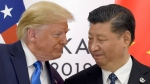 In this June 29, 2019, file photo, U.S. President Donald Trump, left, meets with Chinese President Xi Jinping during a meeting on the sidelines of the G-20 summit in Osaka, Japan. (AP Photo/Susan Walsh, File)