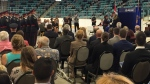 The WRPS swore in 19 new officers. (Nicole Lampa / CTV Kitchener)
