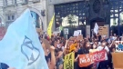 Protesters rally against Amazon wildfire inaction