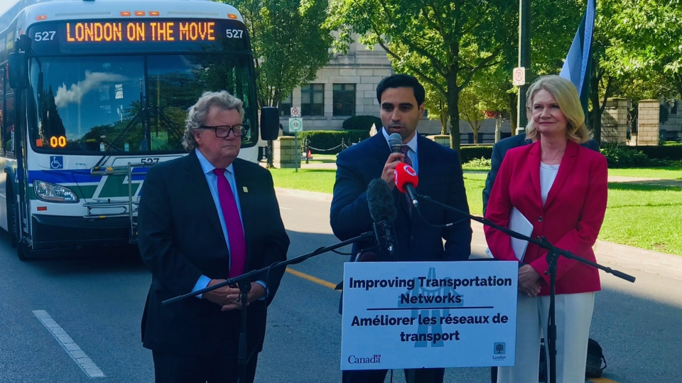 London transit funding