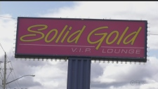 Free former strip club sign