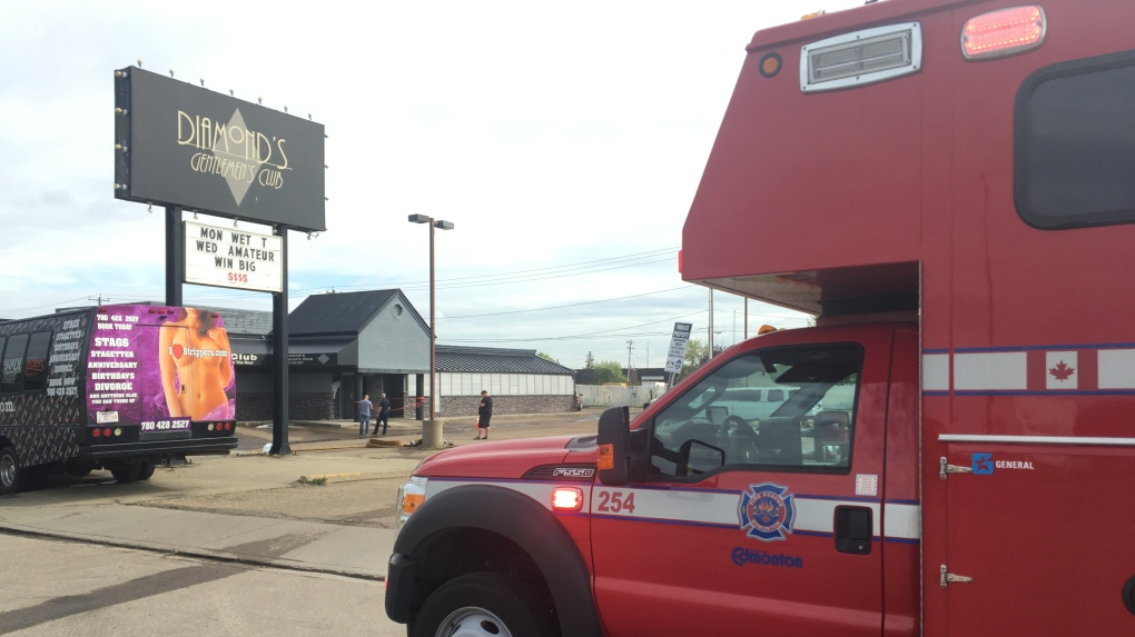 'Hopefully a little bit of it is salvageable': Diamond's Gentlemen's Club damaged in early morning fire