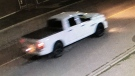 Investigators in Lethbridge are looking for information about this vehicle in connection with a drive-by shooting with a paintball gun at the city's supervised consumption site.