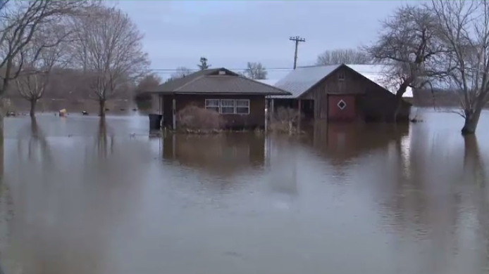 House flooded in New Brunswick