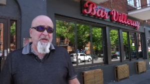 Bar 1370 owner Pasquale Verrillo said he was forced to stop holding weekly charity barbecues in front of his business because the city said he was violating zoning bylaws. Verrillo said he believes neighbours have been complaining because of prejudice against bikers.