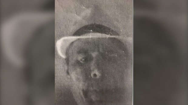 A photocopied image of a man wanted in connection with a break and enter investigation is released by police. (Toronto Police Services)