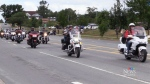 Second annual Highway of Heroes Motorcycle Ride