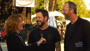 CTV Montreal: Simple Plan headlines gala