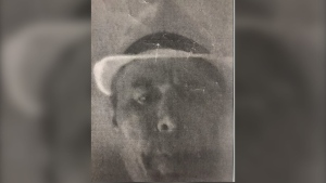 Police in Toronto say a man left a photocopy of his face, seen here, after an alleged break-and-enter. (Source: Twitter, Toronto Police)