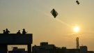 The number of deaths and injuries from kite-flying in India jumps around Independence Day. (AFP)