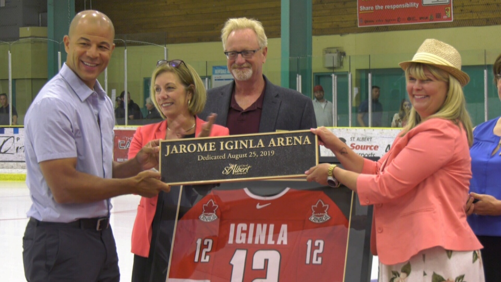 'We're so filled up right now with pride for him': Arena officially renamed after Iginla