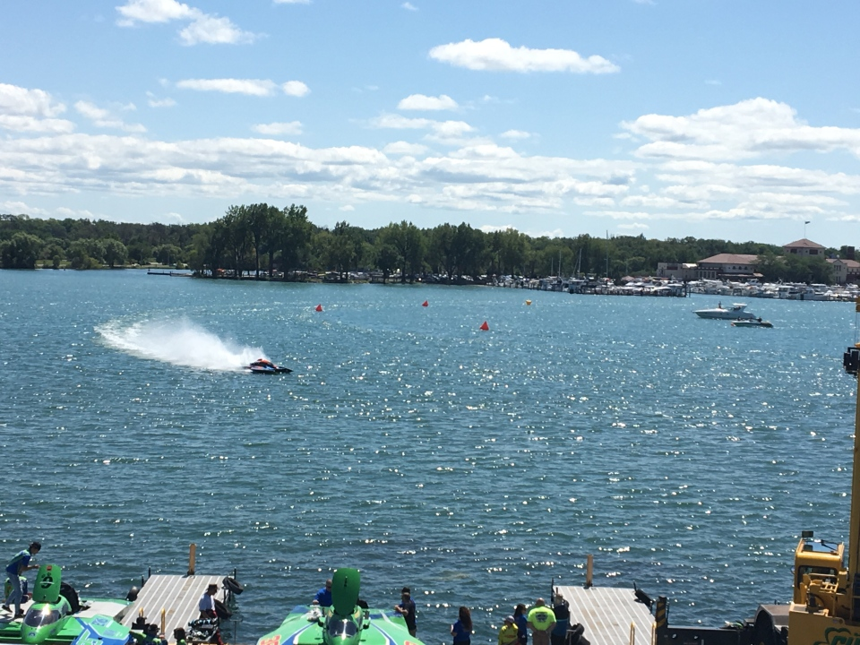 Hydrofest has been held on the Detroit River for the last 103 years. The 2019 event was held from August 23 to 25.