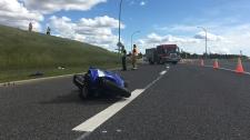 crash near northbound 170 Street