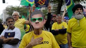 braZIL corrupton protest