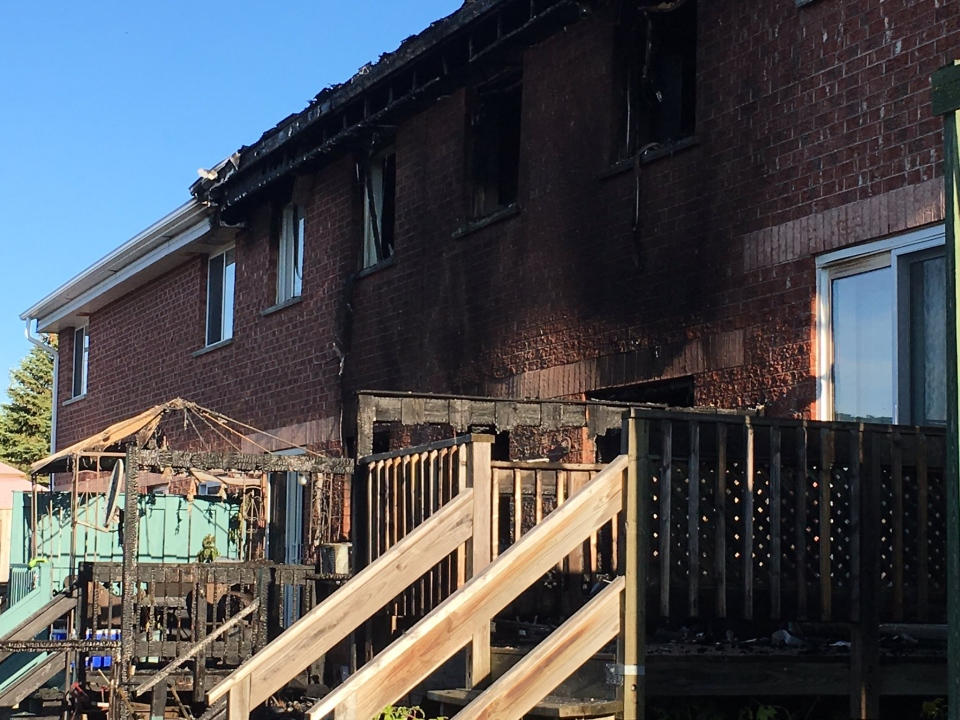 Fire at Kaleidoscope Co-Op in Timmins