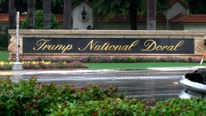 This June 2, 2017 file frame from video shows the Trump National Doral in Doral, Fla. (AP Photo/Alex Sanz, File)