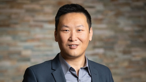 University of New Brunswick biochemist Yang Qu, shown in a handout photo, says the legalization of recreational cannabis has opened the door for scientists to find new medical uses for the plant. (THE CANADIAN PRESS/HO-University of New Brunswick-Cameron Fitch)