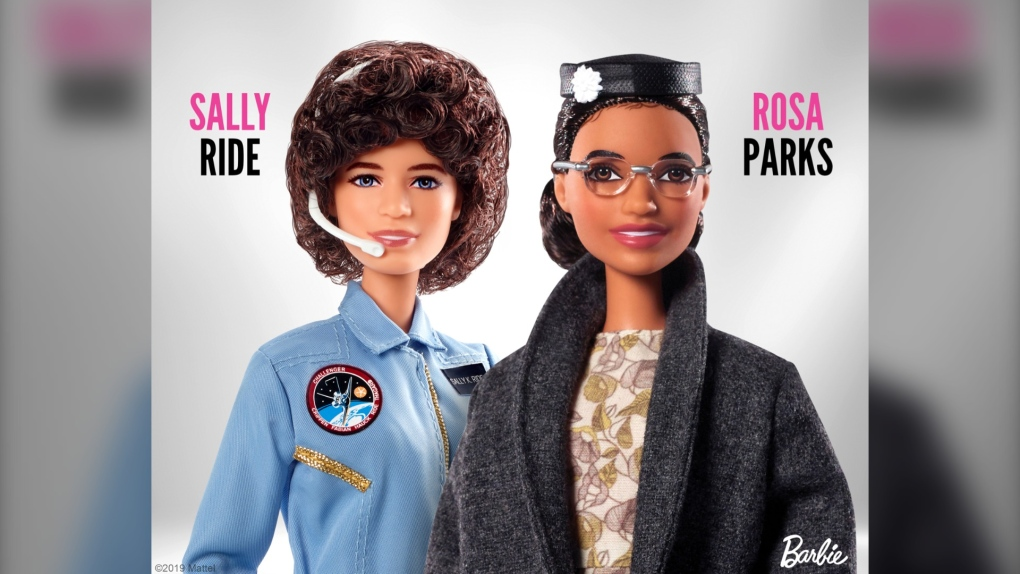 Rosa Parks and Sally Barbie
