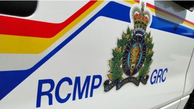 A decal is seen on an RCMP cruiser in this undated file photo.