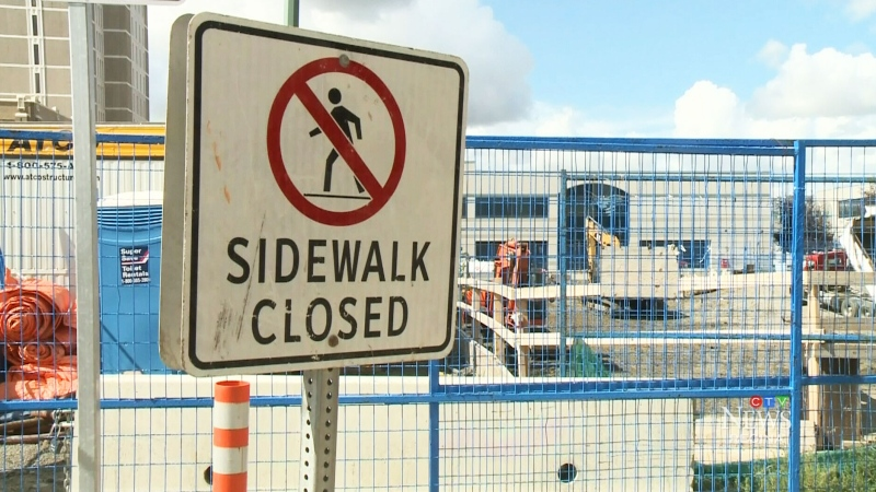 Regina business battles constant construction