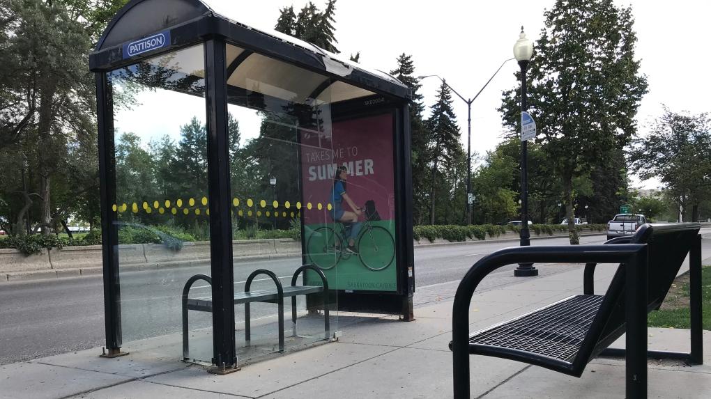 Saskatoon bus stop